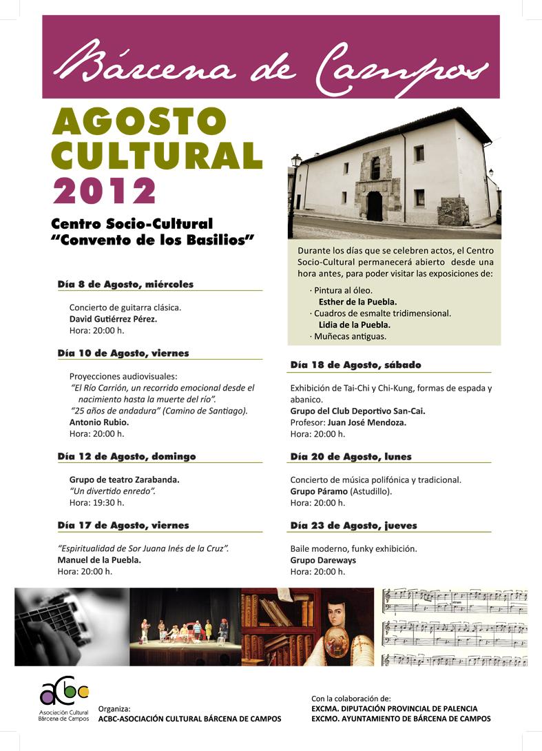 Agosto Cultural 2012