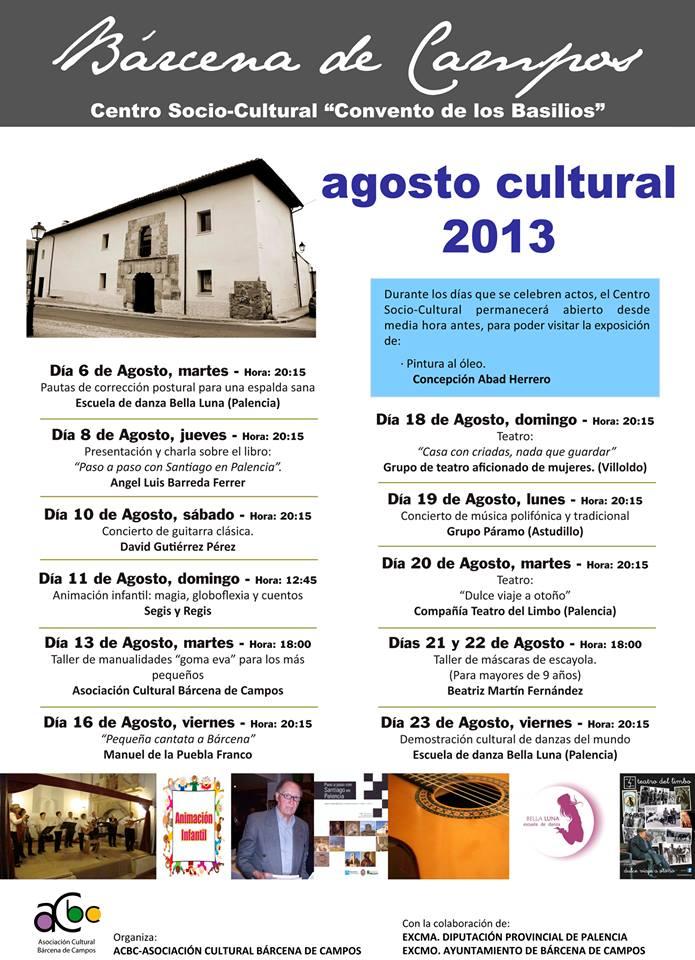 Agosto Cultural 2013
