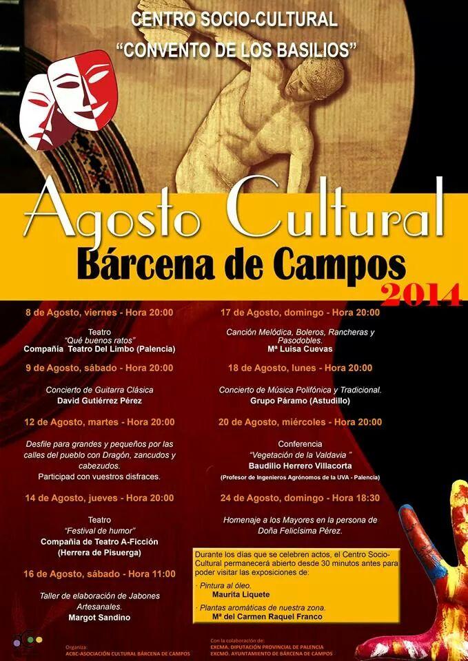 Agosto Cultural 2014