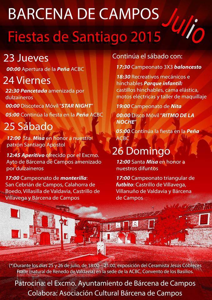 Fiestas de Santiago 2015
