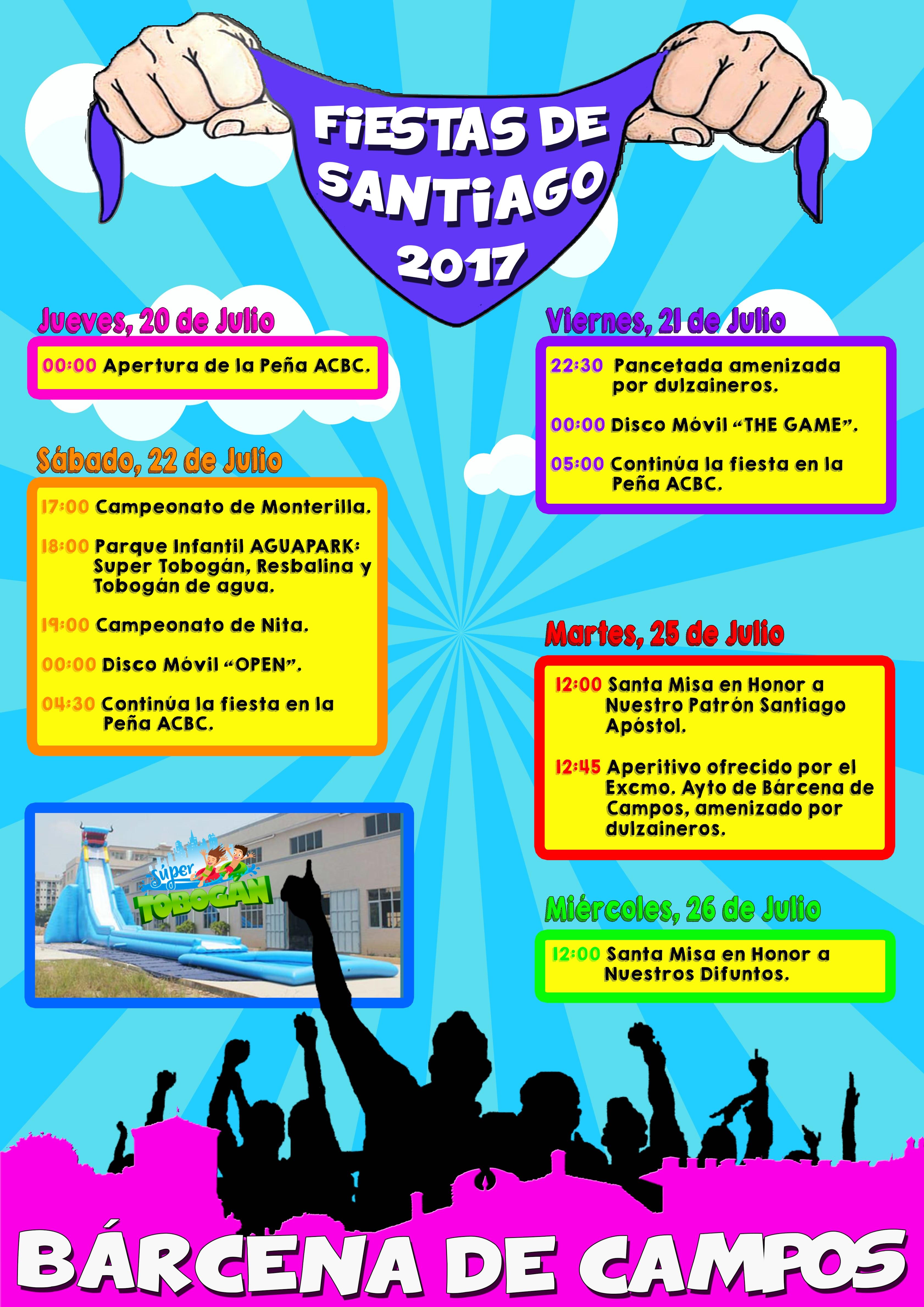 Fiestas de Santiago 2017